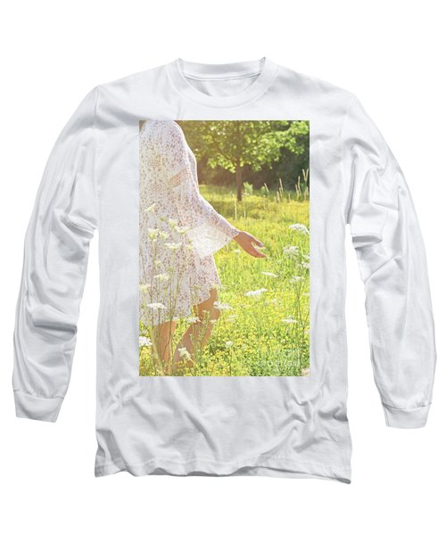 Present Moment.. Long Sleeve T-Shirt