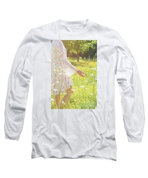 Present Moment.. Long Sleeve T-Shirt
