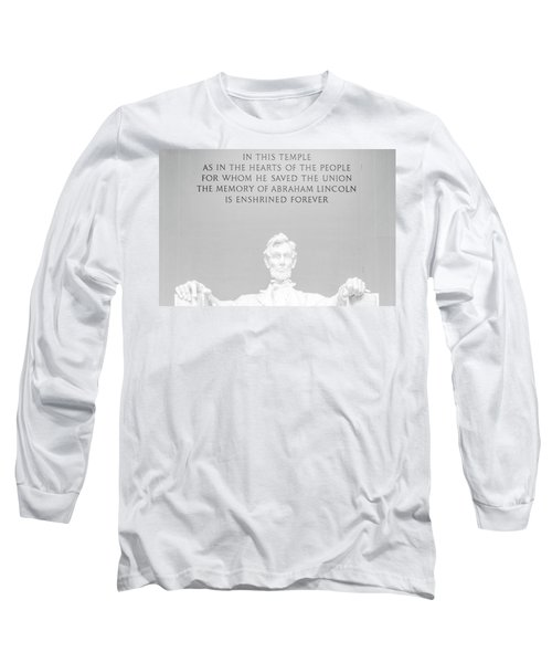 President Lincoln Long Sleeve T-Shirt