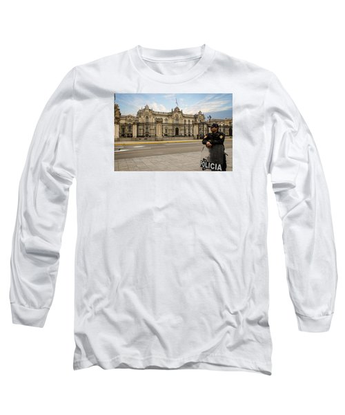 Presidential Palace In Lima Long Sleeve T-Shirt