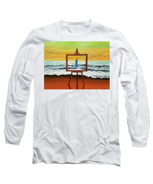 Pretty As A Picture Long Sleeve T-Shirt