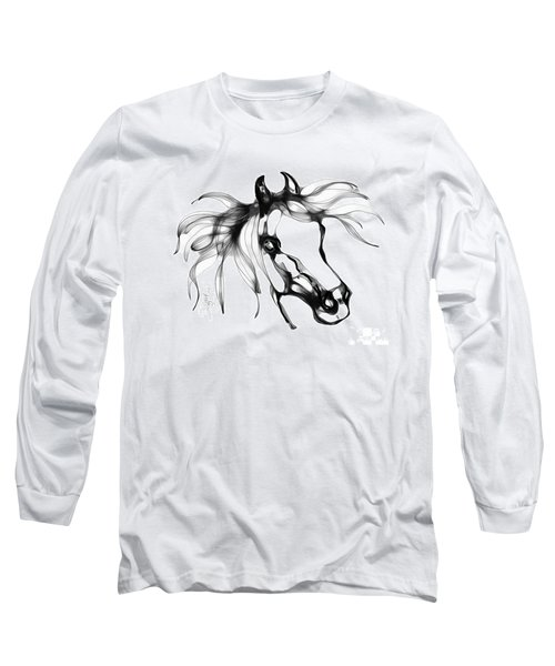 Pretty Filly's Ears Long Sleeve T-Shirt by Stacey Mayer