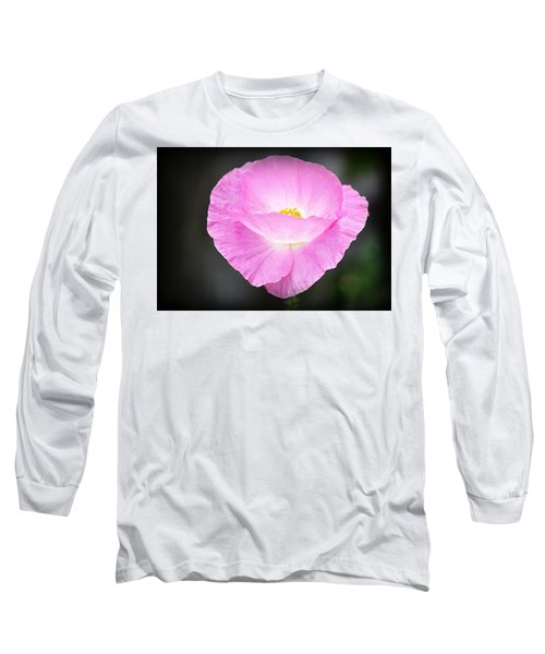 Long Sleeve T-Shirt featuring the photograph Pretty In Pink by AJ Schibig