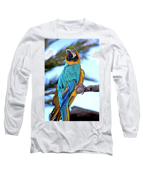 Pretty Parrot Long Sleeve T-Shirt