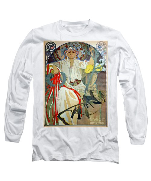 Long Sleeve T-Shirt featuring the photograph Primavera 1914 by Padre Art