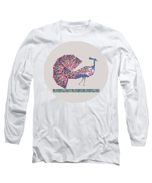 Prince Of Birds B Long Sleeve T-Shirt by Thecla Correya