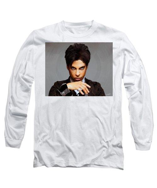 Prince Long Sleeve T-Shirt by Paul Tagliamonte