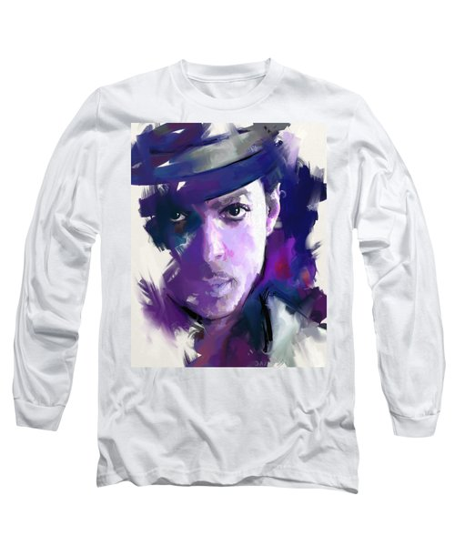 Prince Long Sleeve T-Shirt by Richard Day