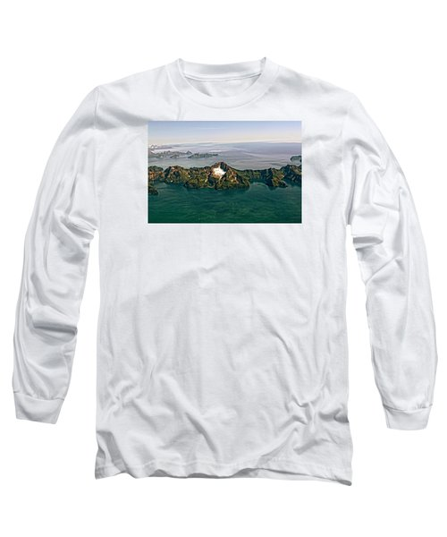 Prince William Sound Alaska Long Sleeve T-Shirt