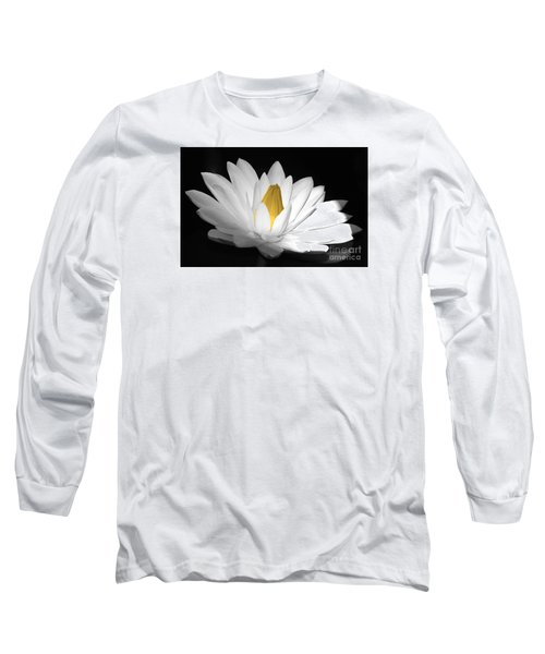 Pristine Long Sleeve T-Shirt by Cindy Manero