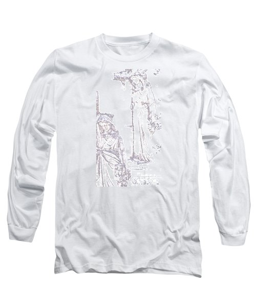 Procession Of Faith 2 Long Sleeve T-Shirt by Linda Shafer