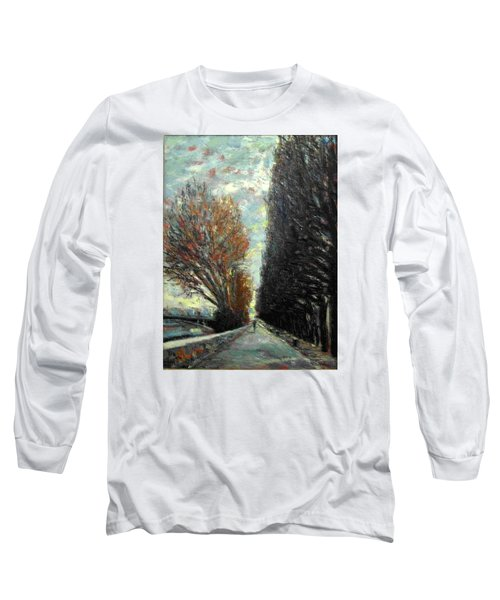 Promenade Long Sleeve T-Shirt by Walter Casaravilla