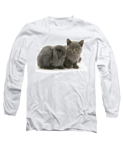 Proud Of My Grey Hare Long Sleeve T-Shirt