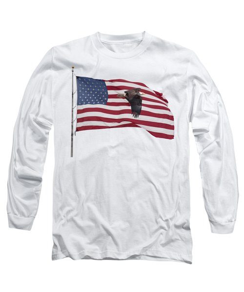 Proud To Be An American Long Sleeve T-Shirt