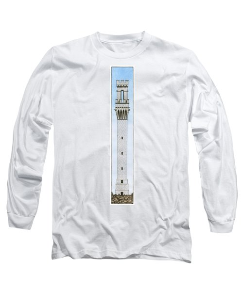 Provincetown Pilgrim Monument Long Sleeve T-Shirt