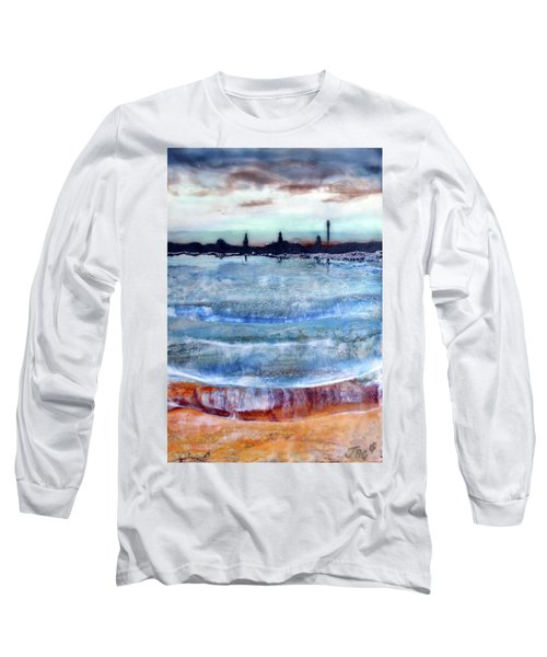 Provincetown Skyline 1 Long Sleeve T-Shirt