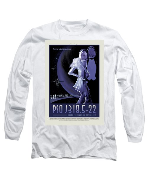 Pso J318.5-22 - Where The Nightlife Never Ends - Vintage Nasa Po Long Sleeve T-Shirt
