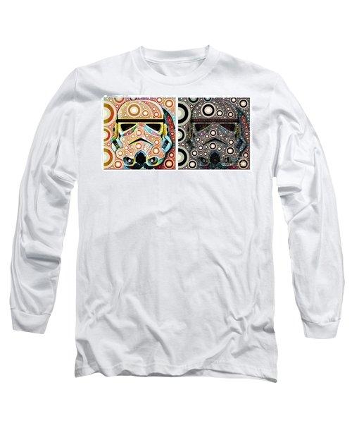Psychedelic Binom Long Sleeve T-Shirt