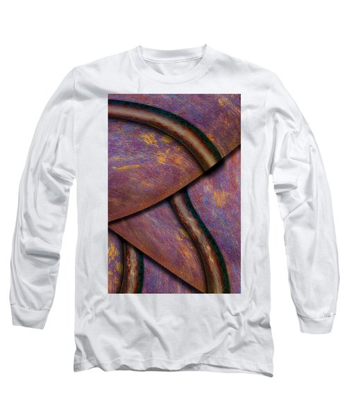 Psychedelic Pi Long Sleeve T-Shirt by Paul Wear