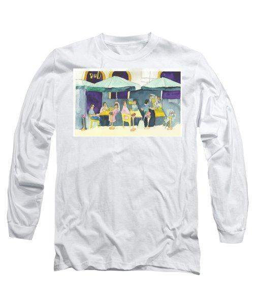 Pub In Harry Hjornes Plats Long Sleeve T-Shirt
