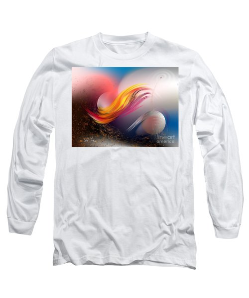 Pulsar Long Sleeve T-Shirt by Leo Symon