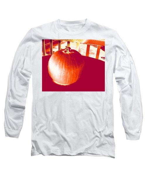 Pumpkin #1 Long Sleeve T-Shirt