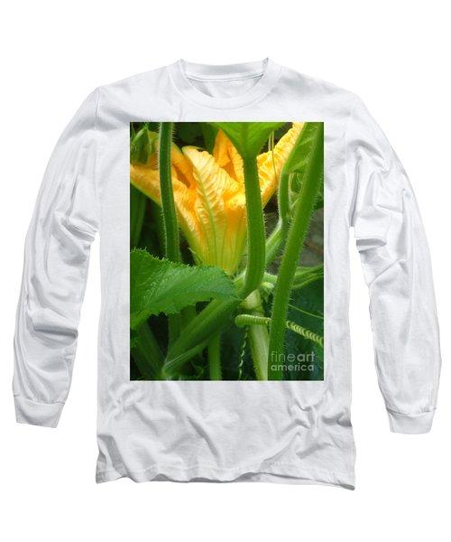 Pumpkin Blossom Long Sleeve T-Shirt