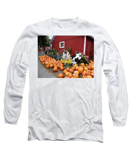 Pumpkin Farm Long Sleeve T-Shirt