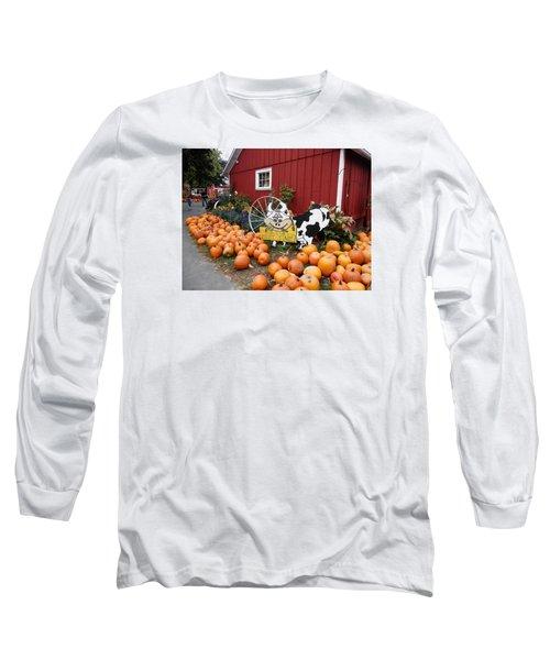 Pumpkin Farm Long Sleeve T-Shirt