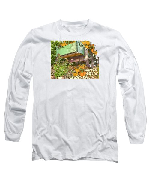 Pumpkin Harvest Long Sleeve T-Shirt by Larry Bishop