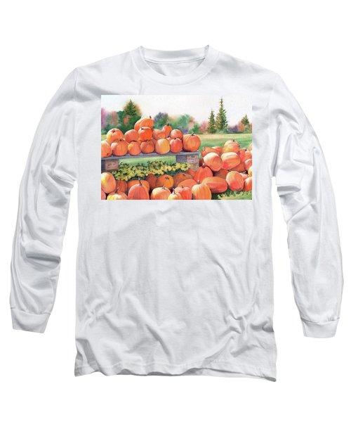 Pumpkins For Sale Long Sleeve T-Shirt