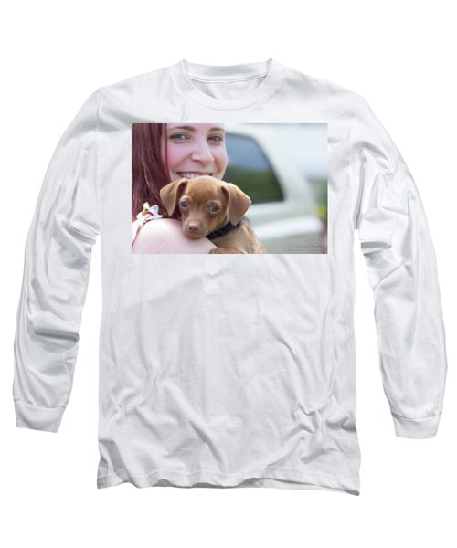 Puppy And Smiles Long Sleeve T-Shirt