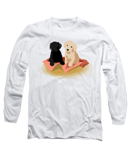 Puppy Basket Long Sleeve T-Shirt