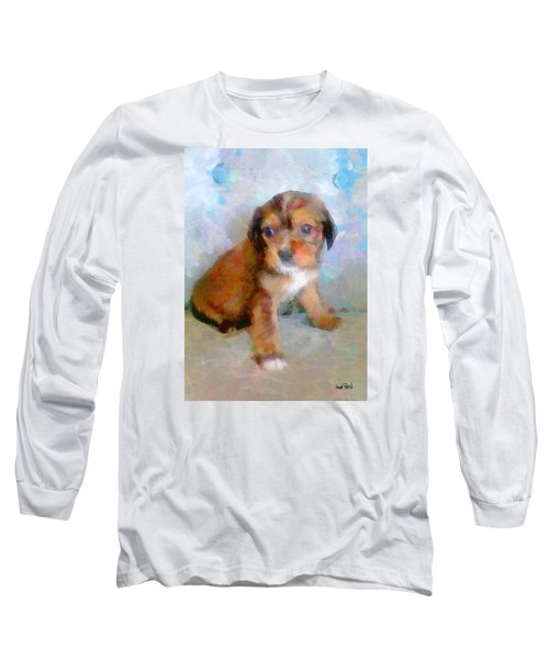 Puppy Love Long Sleeve T-Shirt by Wayne Pascall