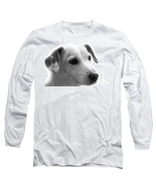 Puppy - Monochrome 4 Long Sleeve T-Shirt