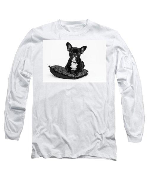 Puppy - Monochrome 5 Long Sleeve T-Shirt
