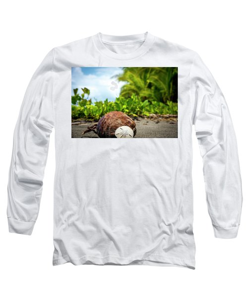 Long Sleeve T-Shirt featuring the photograph Pura Vida Beach Life by David Morefield
