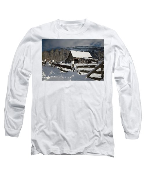 Purcell Mtn Barn Long Sleeve T-Shirt