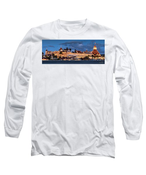 Long Sleeve T-Shirt featuring the photograph Pure And Simple Pano 48x18.5 by Dan McGeorge