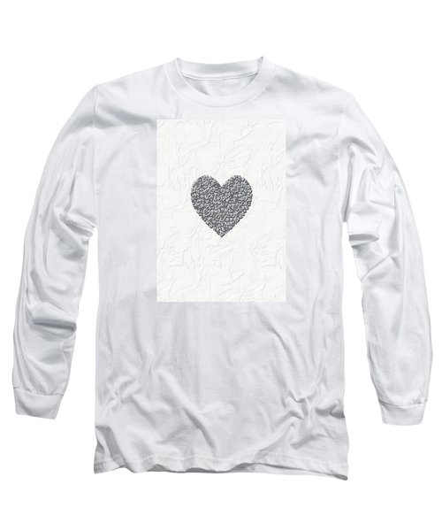 Long Sleeve T-Shirt featuring the digital art Pure Love by Linda Prewer