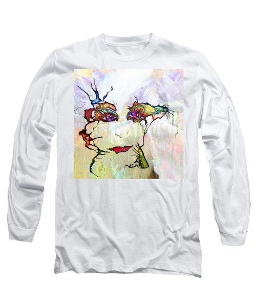Purple Eyed Nymph Long Sleeve T-Shirt