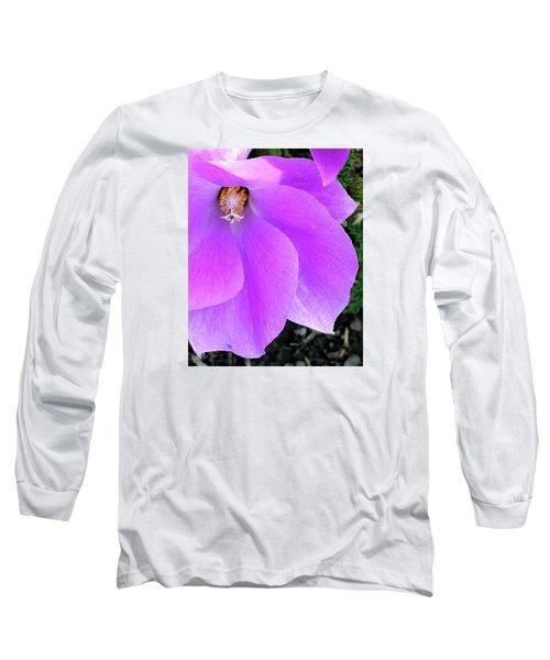 Purple Flower 1 Long Sleeve T-Shirt