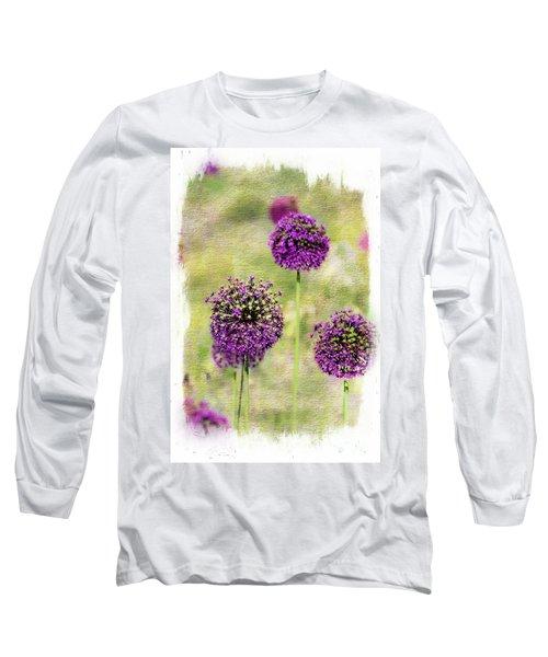 Purple Haze Long Sleeve T-Shirt