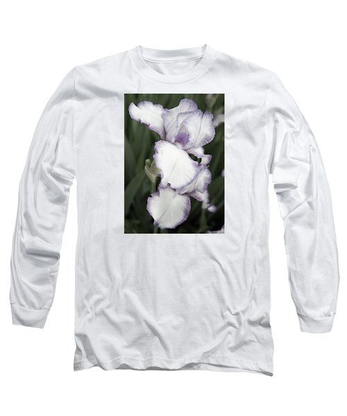 Long Sleeve T-Shirt featuring the photograph Purple Is Passion by Sherry Hallemeier