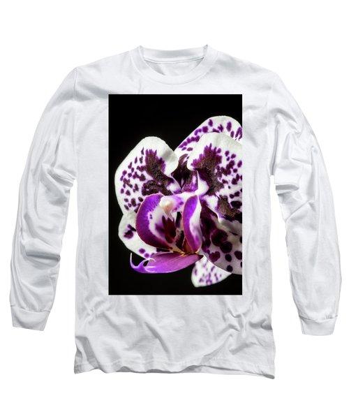 Purple Orchid Long Sleeve T-Shirt