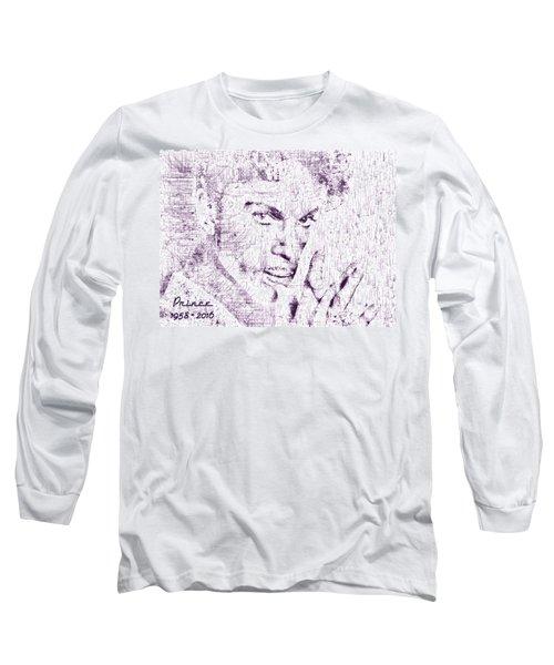 Purple Rain By Prince Long Sleeve T-Shirt