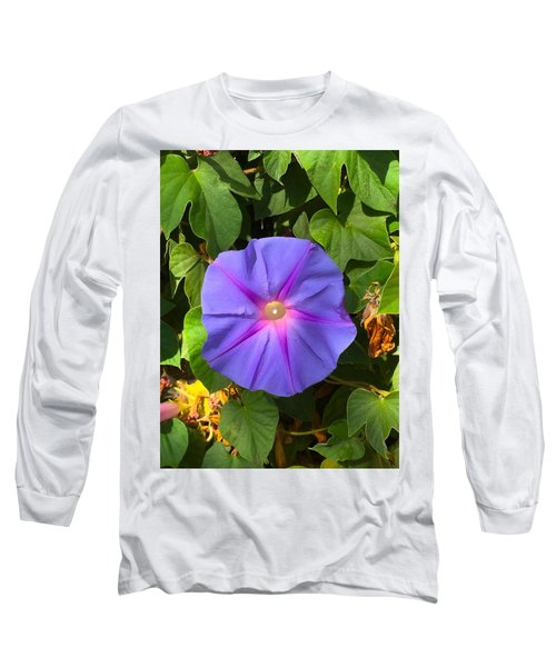 Purple Star Long Sleeve T-Shirt