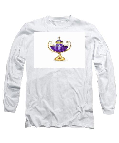 Purple Vase Long Sleeve T-Shirt