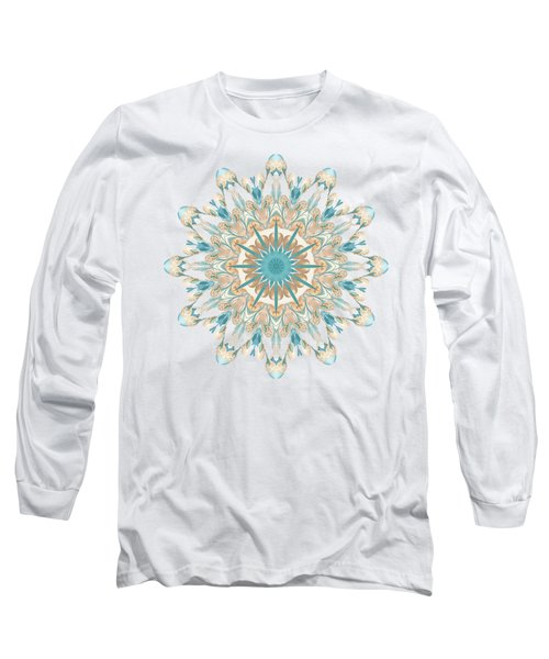 Pussy Willow Pattern Long Sleeve T-Shirt
