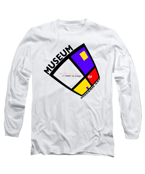 Putting On De Stijl Long Sleeve T-Shirt by Charles Stuart